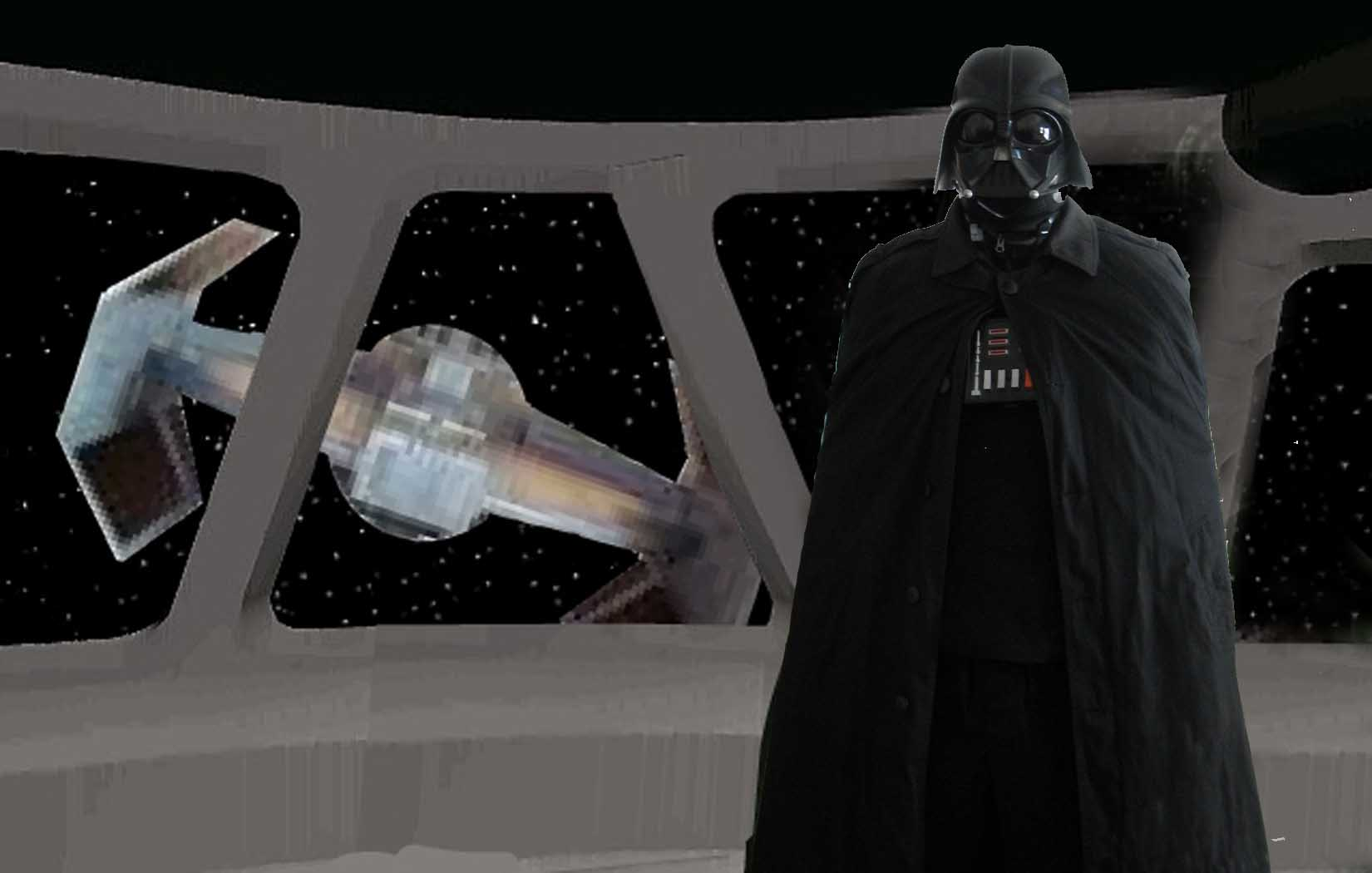 Mike as Vader