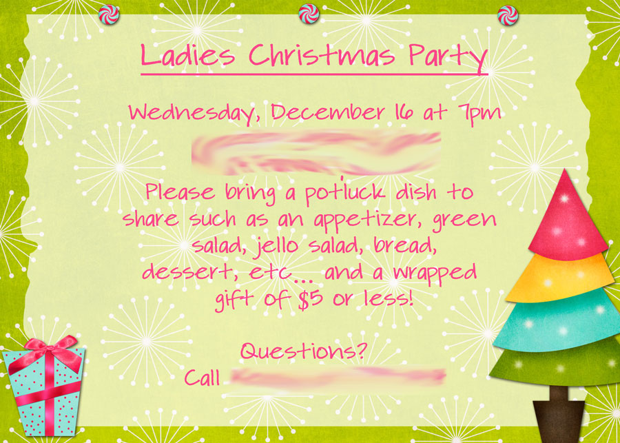 Christmas Party Ideas For Women Part - 36: Recent Posts